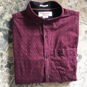Original Penguin Heritage Slim Fit Paisley Shirt